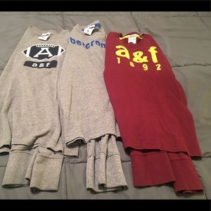 Abercrombie Kids Med long sleeve shirts